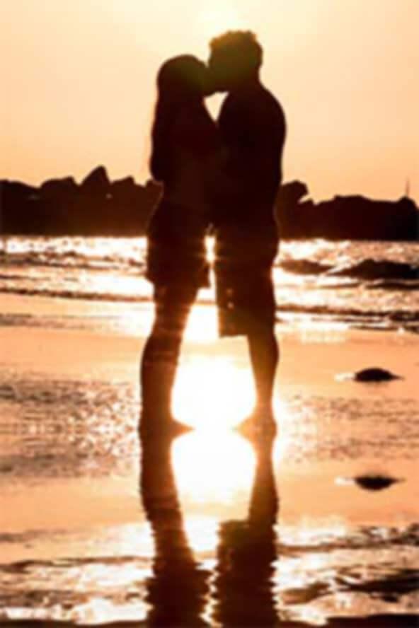 Romantisch küssen auch im Bordell